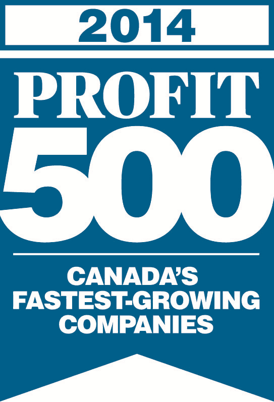 Prizm Media Inc. ranks #52 on the 2014 PROFIT 500