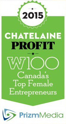 Prizm President Karina Makes Top 10 of W100's Canada's Top 100 Female Entrepreneurs!