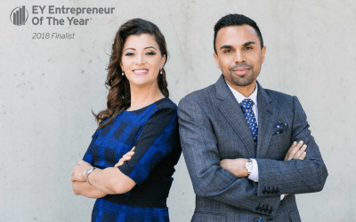 Zeeshan & Karina Hayat are EY's Entrepreneur Of The Year® 2018 Award Finalists