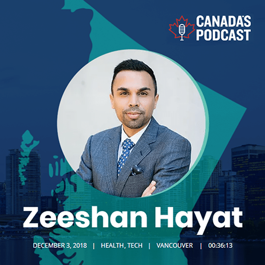 Prizm Media Inc. CEO & Co-founder Zeeshan Hayat Featured in Canada's Podcast