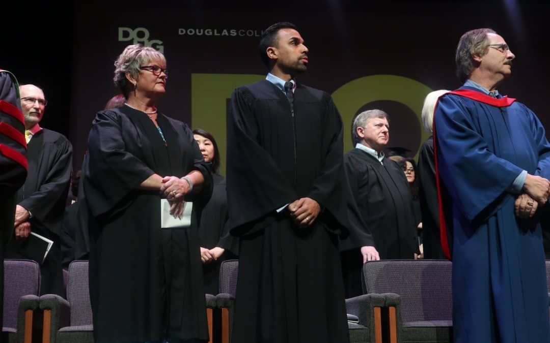 Zeeshan Hayat Receives the Douglas College Distinguished Alumni Award