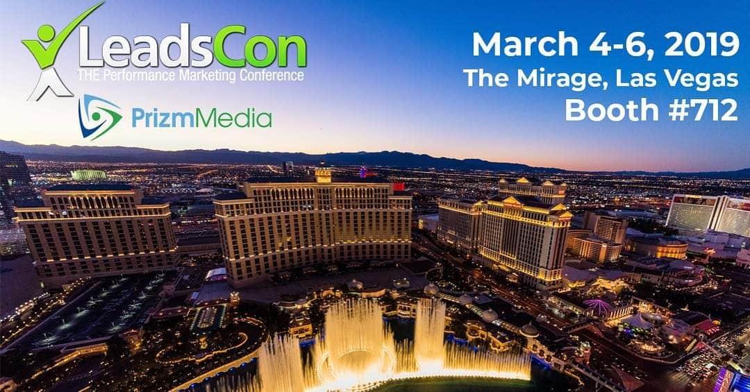 Prizm Media is Attending LeadsCon 2019!