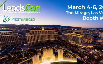 Prizm Media is Attending LeadsCon 2019!